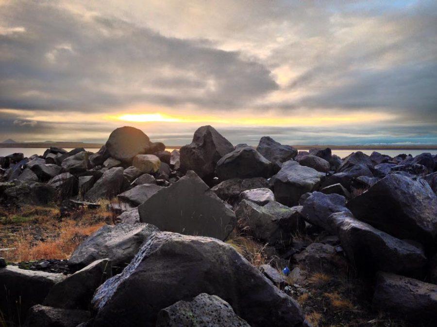 Rocky oceanside