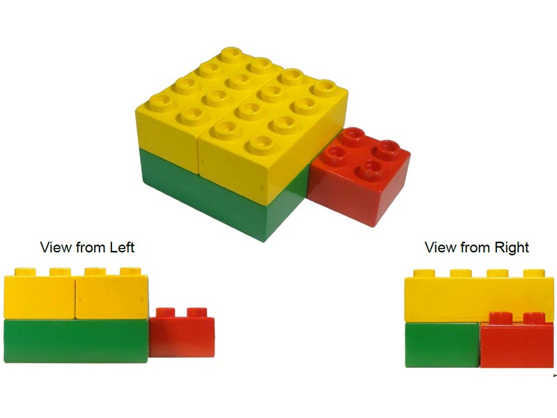 Legos view different sides